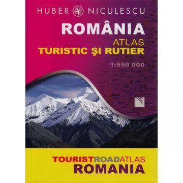 Romania. Atlas turistic si rutier