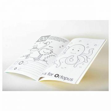 The Alphabet, Preschool Learning Sticker Books, carte cu activitati si autocolante (201/ PSSB1-1)