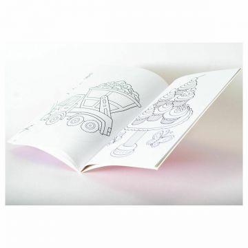 The Fantastic Pink Colouring Book, Fantastica carte Roz de colorat (3033/PICB)