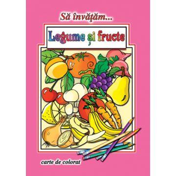 Sa invatam... Legume si fructe (Cartex)