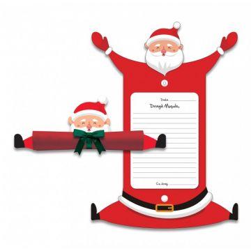 Dragă Moșule - cadru de scrisoare pentru Moș Crăciun (Sinapsis)