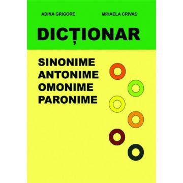 Dictionar - Sinonime, Antonime, Omonime, Paronime (Ars Libri)