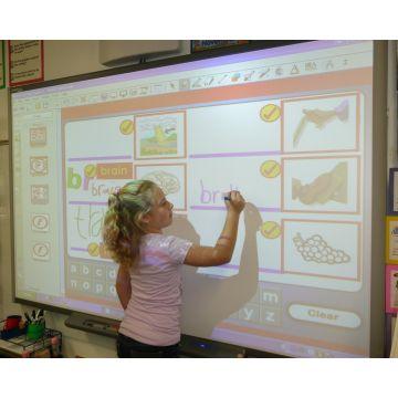 Pachet interactiv Smartboard SB 480 și videoproiector XGA EPSON X31
