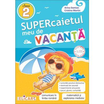 Supercaietul meu de vacanţă - clasa a II-a (Elicart)