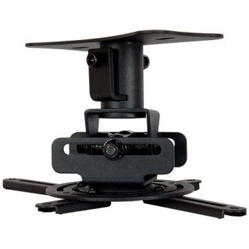 Suport videoproiector pentru montaj pe tavan jos