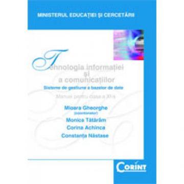 Tehnologia informatiei si a comunicatiilor - Manual pentru clasa a XI-a (Corint)