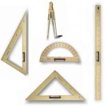Trusa geometrie pentru tabla scolara