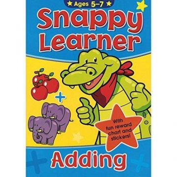 Snappy Learner (5-7) - Adding, Caietul elevului istet- Adunarea (5-7 ani) (2526/SLAB1)