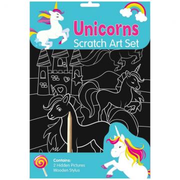 Unicorn Scratch Art Set, Imagini razuibile (3126/UNSA)