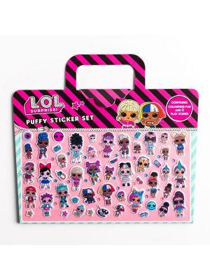 LOL Surprise Puffy Sticker Set- kit cu autocolante (3260/LOLPY)